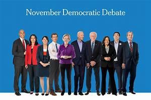 Next Democratic Debate: The Top Four vs. Everyone Else ...