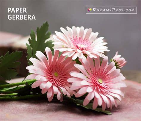 paper daisy flower dreamyposy templates