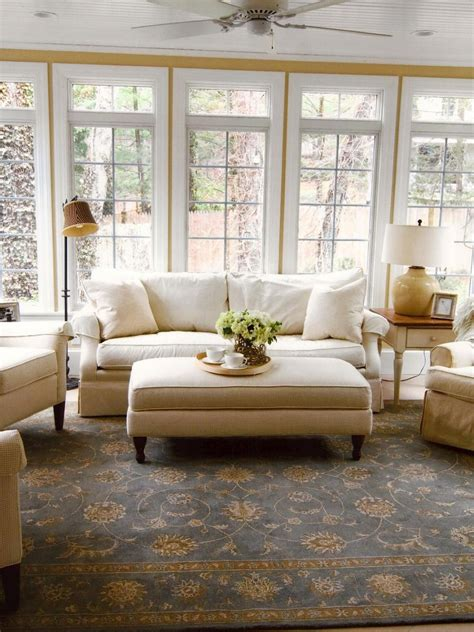 Sunroom Ideas by Cottage Style Sunrooms Hgtv