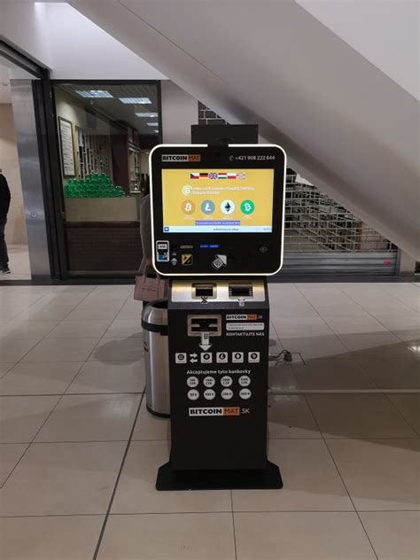 The best part of using the btc atm machine, it doesn't require extensive expertise and you can use it without complicated access procedures. Bitcoin ATM in Teplice - Fontana Teplice