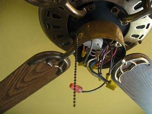 How to replace a ceiling fan speed switch