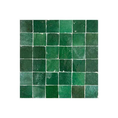 green  moroccan tile  zellige tile