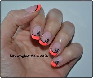 French Manucure Couleur : gouttes les ongles de lucie ~ Nature-et-papiers.com Idées de Décoration