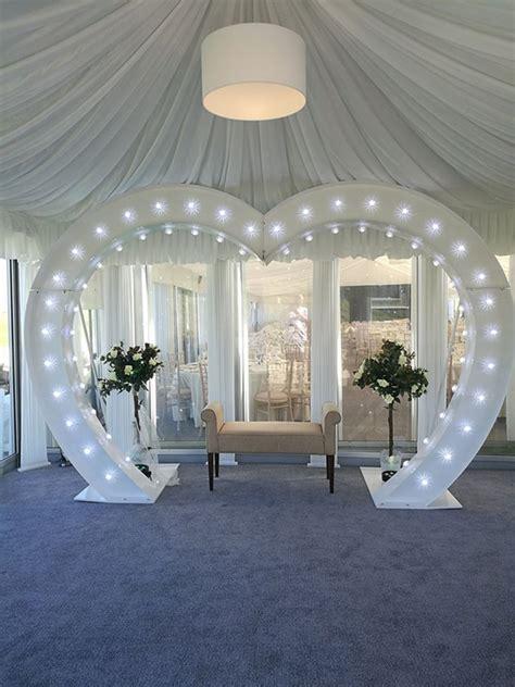 brilliant ways   light  letters   wedding