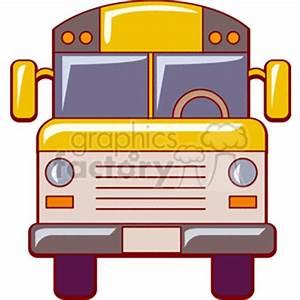 Cartoon School Bus Clipart (77+)