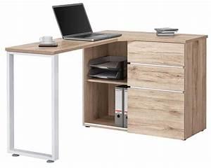 Bureau Informatique Design : bureau d angle avec surmeuble ~ Teatrodelosmanantiales.com Idées de Décoration