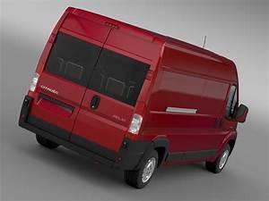 Citroen Relay Van L3h2 2006-2014 3d Model