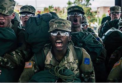 Army Training Basic Soldiers Fort Drill Jackson