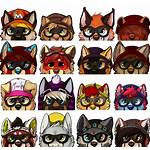 Hipster Icons Weasyl