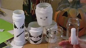 Halloween Sachen Basteln : basteln mit kindern glasgeister glasmumien windlichter deko f r halloween youtube ~ Whattoseeinmadrid.com Haus und Dekorationen