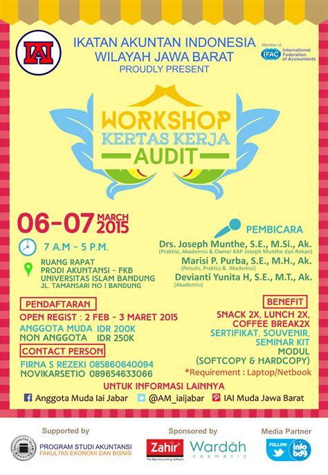 workshop kertas kerja audit