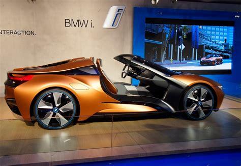 Bmw I8 Spyder I Vision Concept Shows Off Future Tech Car Pro