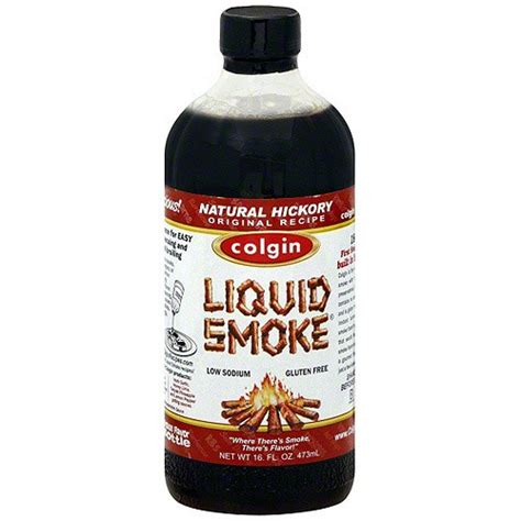 what is liquid smoke colgin hickory liquid smoke 16oz 2 pack