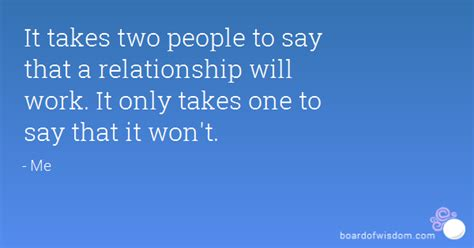 It Takes Two Relationship Quotes Quotesgram
