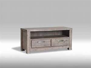 Tv 120 Cm : solliden alana tv meubel 120 cm breed acaciahout ~ Teatrodelosmanantiales.com Idées de Décoration