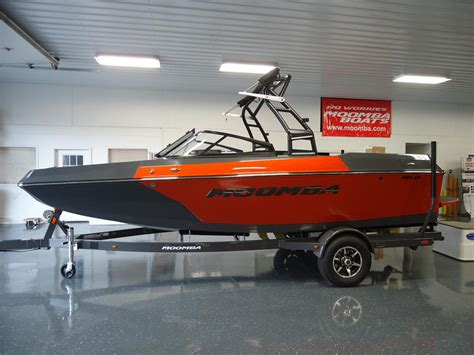 Moomba Helix Boat Reviews by 2016 Moomba Helix Orange For Sale In Waterford Michigan
