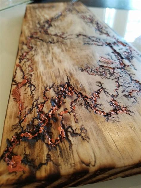 fractal wood burning wood burning art patterned