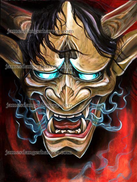 japanese demon wallpaper gallery