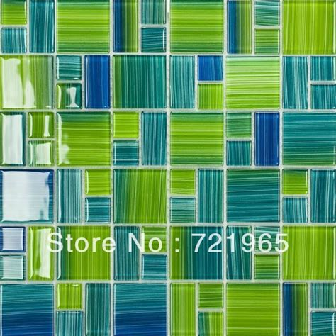 green glass tiles kitchen blue glass mosaic swimming pool tile cgmt110 green glass 3989
