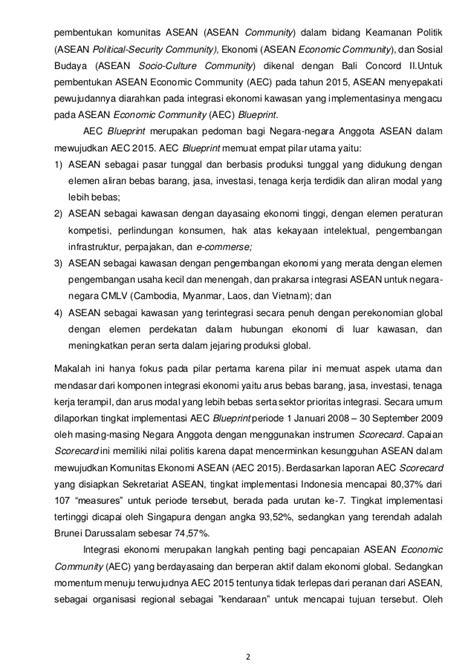 Makalah Asean Ekonomi Comunity (AEC)