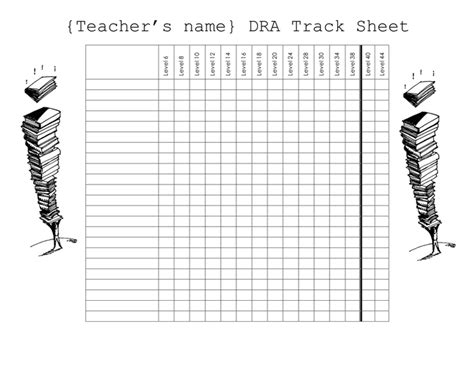 Tracking Sheet Template Word by Famous Track Sheet Template Image Collection Exle