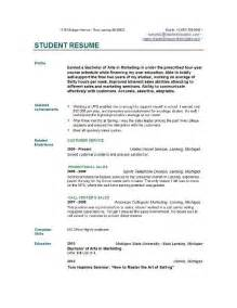 1000 ideas about student resume template on