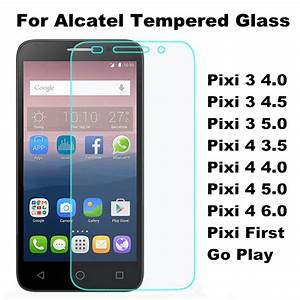 Tempered Glass Film For Alcatel One Touch Pixi 3 4 0 4 5 5