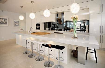 large kitchen designs with islands large kitchen island design home designs project 8890