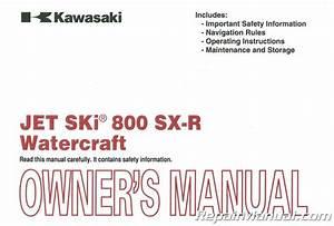 2010 Kawasaki Js800a Jet Ski 800 Sx