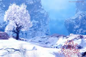 Winter Mountain Screensavers Free