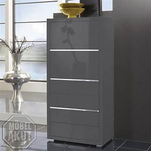 Kommode Grau Hochglanz : kommode luxor schrank grau hochglanz lackiert neu ebay ~ Frokenaadalensverden.com Haus und Dekorationen