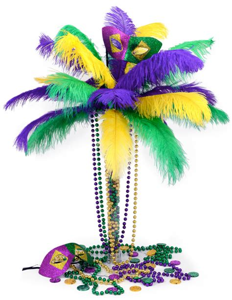 party ideas by mardi gras outlet diy mardi gras feather
