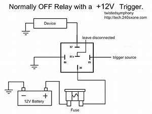 240sxone Tech  U00bb Blog Archive  U00bb Relay Wiring Basics
