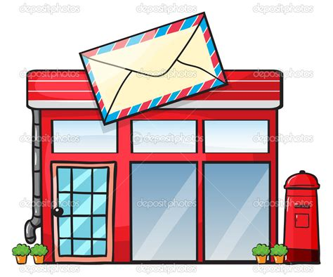 Post Office Clipart Post Office Building Clipart Clipart Panda Free