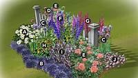 cottage garden plans The gallery for --> Flower Garden Designs For Full Sun