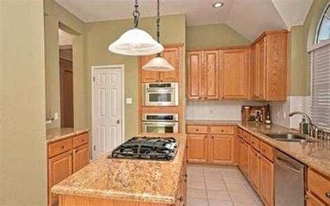 what color to paint cabinets and walls for tan granite light tan til