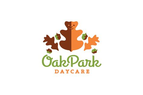 oak park daycare logo design logo cowboy