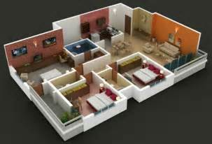 Three Bed Room House Ideas Photo Gallery by 3 Bedroom House Designs 3d Inspiration Ideas Design A