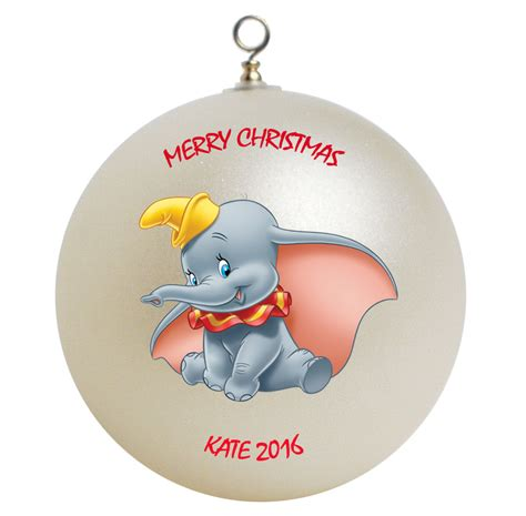 personalized dumbo christmas ornament gift ornaments