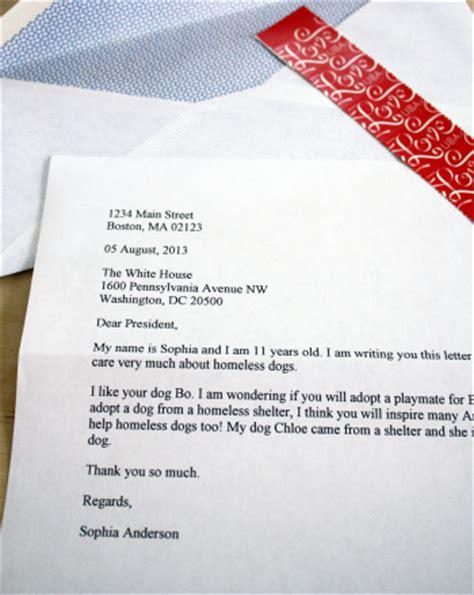 write  letter   president activity educationcom