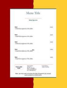 restaurant menu templates graphics  templates
