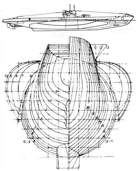 Mini Boat Drawing by Plan Of U Boat Jonni