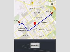 How to draw interactive Polyline on route google maps v2