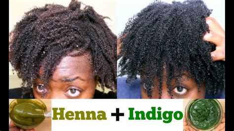 Natural Hair Dye Diy Henna And Indigo For Black Hair From