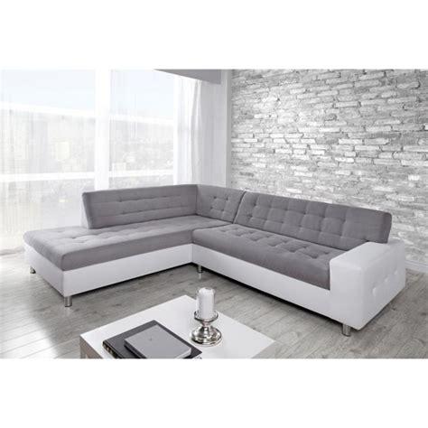 canape d angle 10 places java canapé d 39 angle gauche 6 places tissu gris et simili