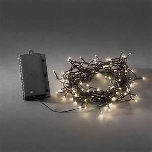 Weihnachtsbeleuchtung Mit Batterie Und Timer : konstsmide led lichterkette 120 led warmwei batteriebetrieb mit sensor und timer ~ Orissabook.com Haus und Dekorationen