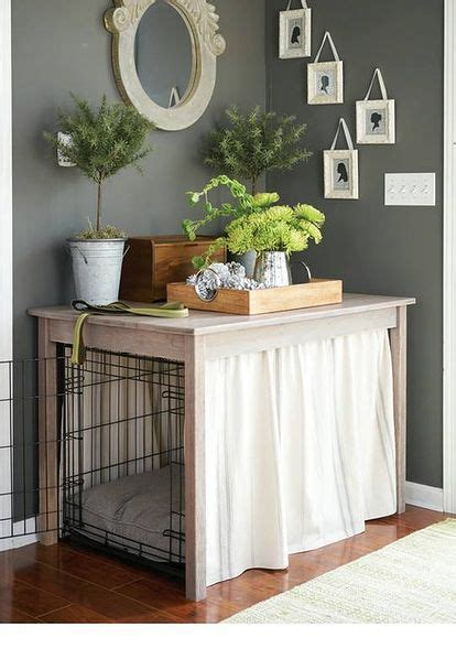 beautify  dogs crate   simple table build