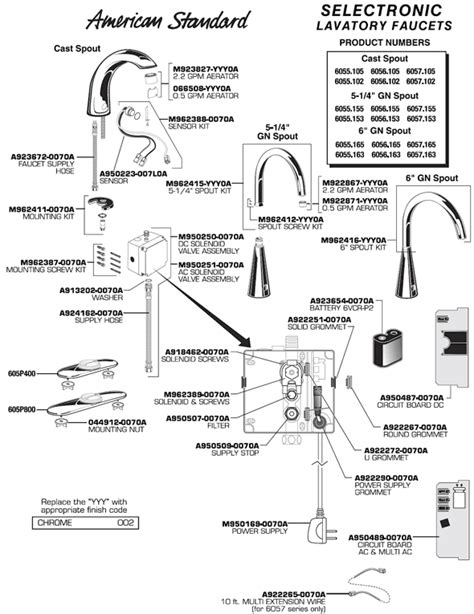 PlumbingWarehouse.com - American Standard repair parts for