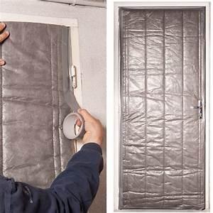 Isolation De Porte : kit isolation porte de service 210 x 85 cm outillage et ~ Premium-room.com Idées de Décoration