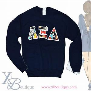 love this vera b happy snails sewn on letter navy With sewn on letters sweatshirts